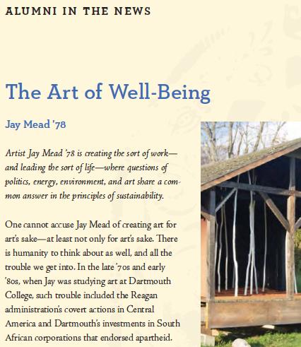Jay Mead Image, Holderness School Magazine, Winter 2014