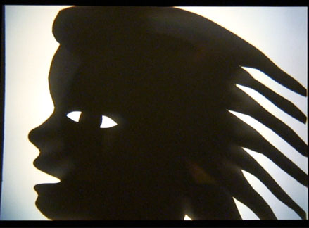 Shadow Puppet Show: Child's Head
