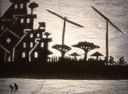 Shadow Puppet Show: City Scene