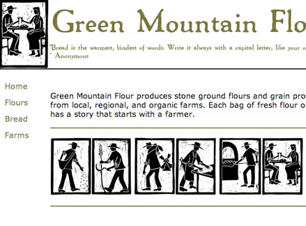 Green Mountain block prints